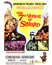 This is an image of Prints & Posters of The 7th Voyage of Sinbad 204431