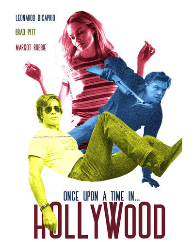 This is an image of Prints & Posters of Once Upon a Time in Hollywood 204446