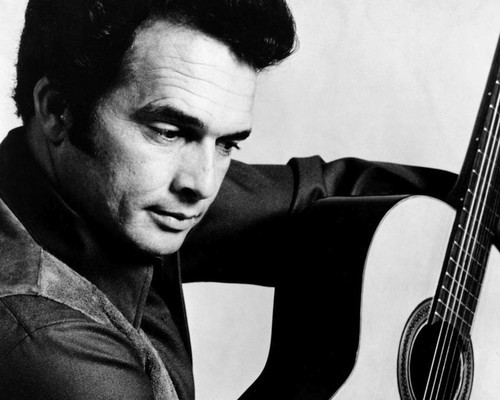 This is an image of Prints & Posters of Merle Haggard 107307