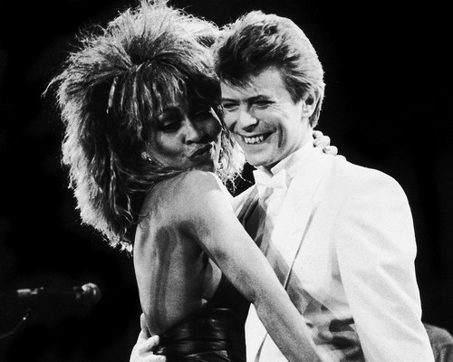 This is an image of Prints & Posters of Tina Turner and David Bowie 107308