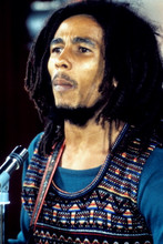 Bob Marley, cool in concert pose 8x12 photo