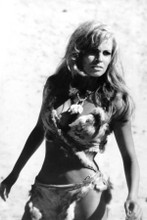 Raquel Welch in fur bikini & necklace One Million Years BC in desert 8x12 photo