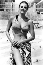 Raquel Welch smiling bikini pose 1967 The Biggest Bundle of Them All 8x12 photo