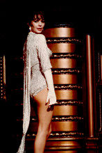 Natalie Wood 8x12 inch real photo leggy pose in sequined stripper dress Gypsy