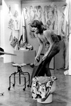 Diana Rigg in her underwear full length The Avengers TV 8x12 inch real photo
