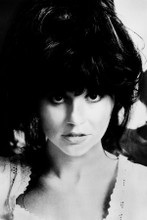 Linda Ronstadt iconic 1970's pouting pose 8x12 inch real photo