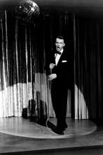 Frank Sinatra full length in tuxedo singing in night club8x12 inch real photo