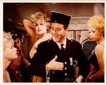 Irma La Douce 1964 Jack Lemmon Grace Lee Whitney & girls in police van 8x12