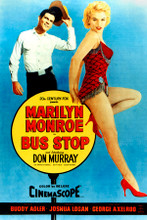 Marilyn Monroe Don Murray Bust Stop movie poster artwork 8x12 inch real photo