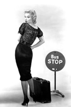 Marilyn Monroe sexy full length pose for Bus Stop 8x12 inch real photograph