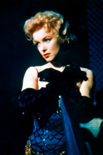 Marilyn Monroe in burleque outfit in scene from Bus Stop 8x12 inch real photo