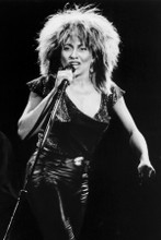 Tina Turner iconic 1980's in concert press photo 8x12 inch real photo