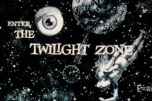 The Twilight Zone TV series opening credits 8x12 inch real photo