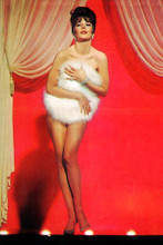 Natalie Wood full length naked holding fur over chest Gypsy 8x12 inch photo