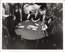 Cincinnati Kid Steve McQueen Edward G Robinson face-off card game 5x7 photo