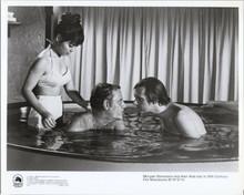 MASH TV series Alan Alda McLean Stevenson share Japanese bath 5x7 inch photo