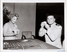 Ernest Borgnine gambling smiling McHale's Navy TV series 5x7 photo