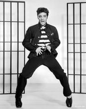 Jailhouse Rock Elvis Presley full length pose in black 5x7 photo
