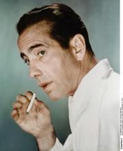 Humphrey Bogart iconic pose in white shirt holding cigarette 5x7 photo
