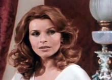 Senta Berger late 1960's in film scene 5x7 inch photo