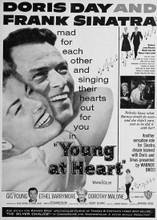 Young at Heart Frank Sinatra Doris Day poster art 5x7 inch photo