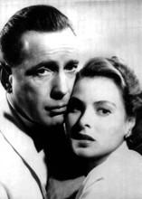 Casablanca Humphrey Bogart Ingrid Bergman classic embrace 5x7 inch photo