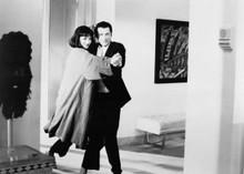 Pulp Fiction Uma Thurman John Travolta tango in house 5x7 inch photo