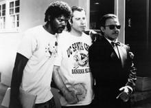 Pulp Fiction Samuel L. Jackson John Travolta Harvey Keitel 5x7 inch photo