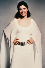 Carrie Fisher vintage 4x6 inch real photo #33169