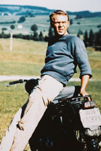 Steve Mcqueen vintage 4x6 inch real photo #351225