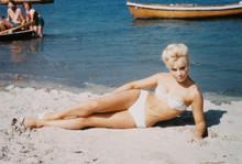 Elke Sommer vintage 4x6 inch real photo #353385