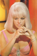 Diana Dors vintage 4x6 inch real photo #355247