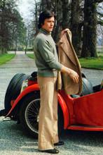 Alain Delon vintage 4x6 inch real photo #363012