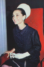 Audrey Hepburn 4x6 inch press photo #363025