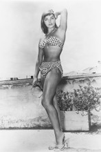 Joan Collins vintage 4x6 inch real photo #448814
