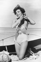 Joan Collins vintage 4x6 inch real photo #449411