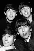 The Beatles 4x6 inch real photo #462778
