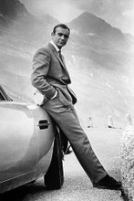Sean Connery vintage 4x6 inch real photo #462799