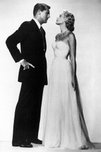 Cary Grant & Grace Kelly vintage 4x6 inch real photo #462832