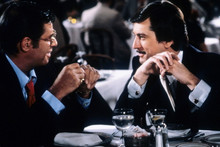The King Of Comedy, Jerry Lewis Robert De Niro have cocktails 4x6 photo