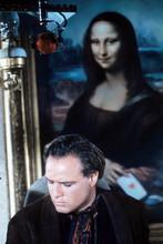 One-Eyed Jacks, Marlon Brando in front of Mona Lisa painting 4x6 photo