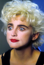 Madonna, Great close up from Who's That Girl, with crazy looking eyes 4x6 photo