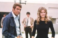 The Six Million Dollar Man, Lee Majors Lindsay Wagner rare on set 4x6 photo