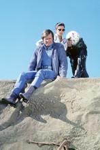 Buck Rogers In The 25th Century, Buck Hawk and Wilma on mountain 4x6 photo