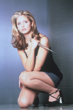 Sarah Michelle Gellar, Great studio pose from Buffy, stunning 4x6 photo