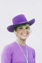 Doris Day, Rare portrait in hat, circa early 1970's Doris Day Show 4x6 photo