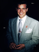 Robert Wagner, smiling candid pose 1950's 4x6 photo