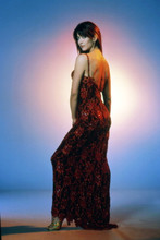 Sophie Marceau, full length glamour pose in red dress 4x6 photo