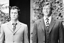 The Persuaders, Roger and Tony in suits 4x6 photo