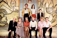 The Poseidon Adventure 4x6 inch real photograph complete cast line-up onboard